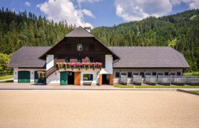 Gestüt Grünau Stallungen